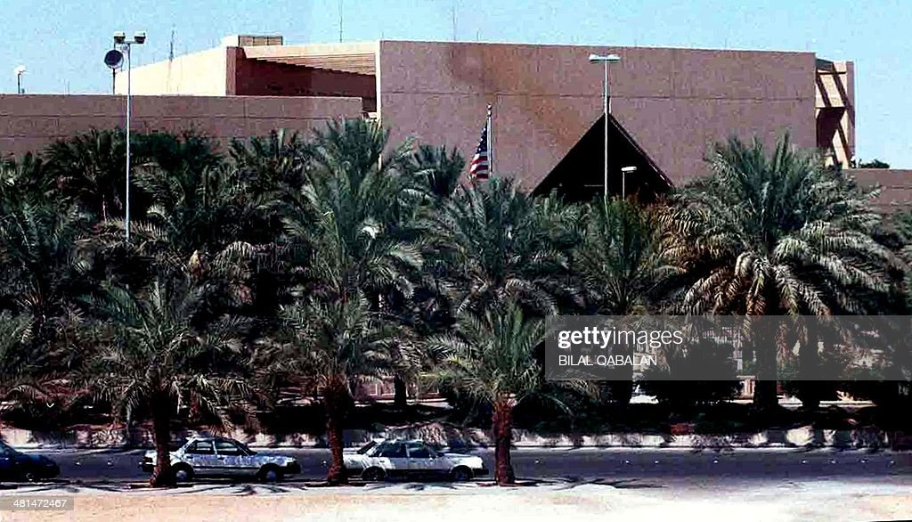 A general view of the US Embassy in the Saudi capital Riyadh taken 2002 The United States ordered its nonessential diplomats in Saudi Arabia to leave...