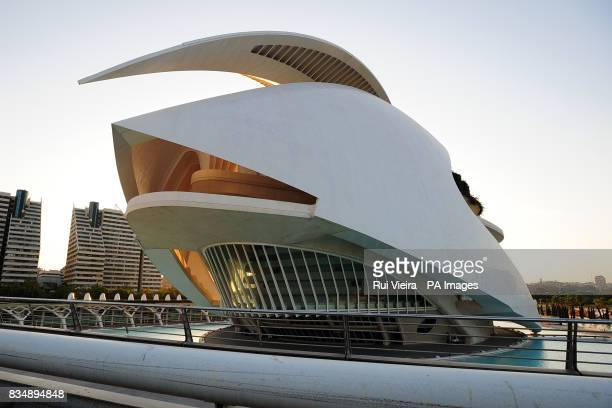 A general view of the Valencia Opera House