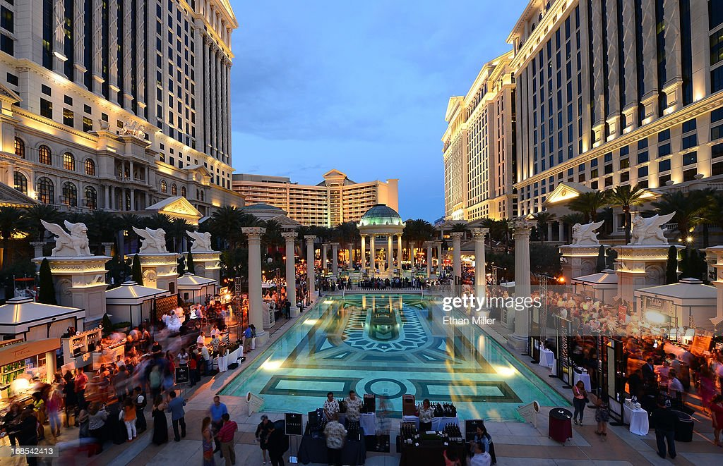 A general view of the Vegas Uncork'd by Bon Appetit's Grand Tasting event at Caesars Palace on May 10, 2013 in Las Vegas, Nevada.
