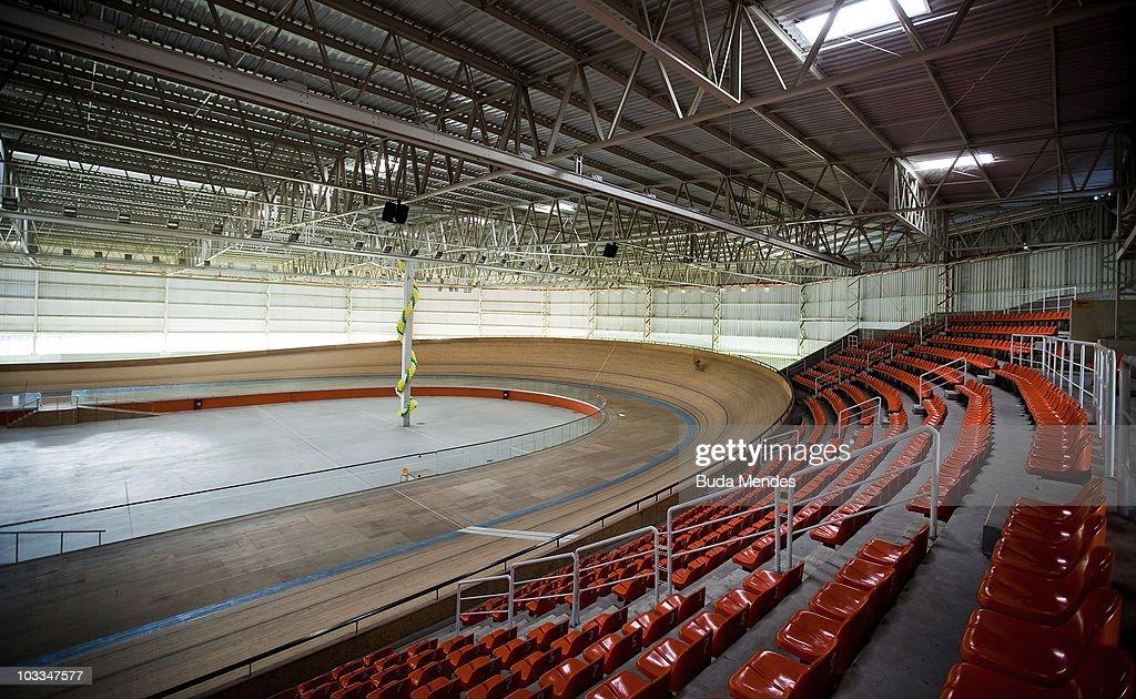 General view of the Velodrome in Rio de Janeiro on July 2 2010 in Barra da Tijuca Rio de Janeiro Brazil