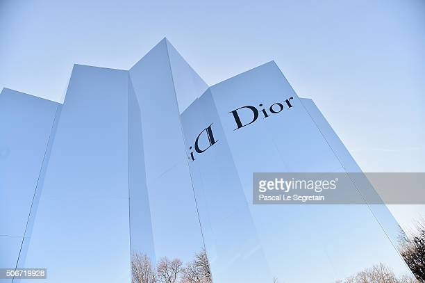 General view of the venue during the Christian Dior Spring Summer 2016 show as part of Paris Fashion Week on January 25 2016 in Paris France