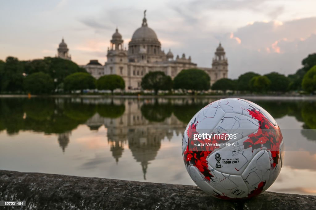 A general view of the Victoria Memorial ahead of the FIFA U-17 World Cup India 2017 tournament on October 4, 2017 in Kolkata, India.