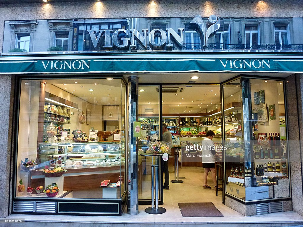 A general view of the 'Vignon' grocery store on September 13, 2012 in Paris, France.