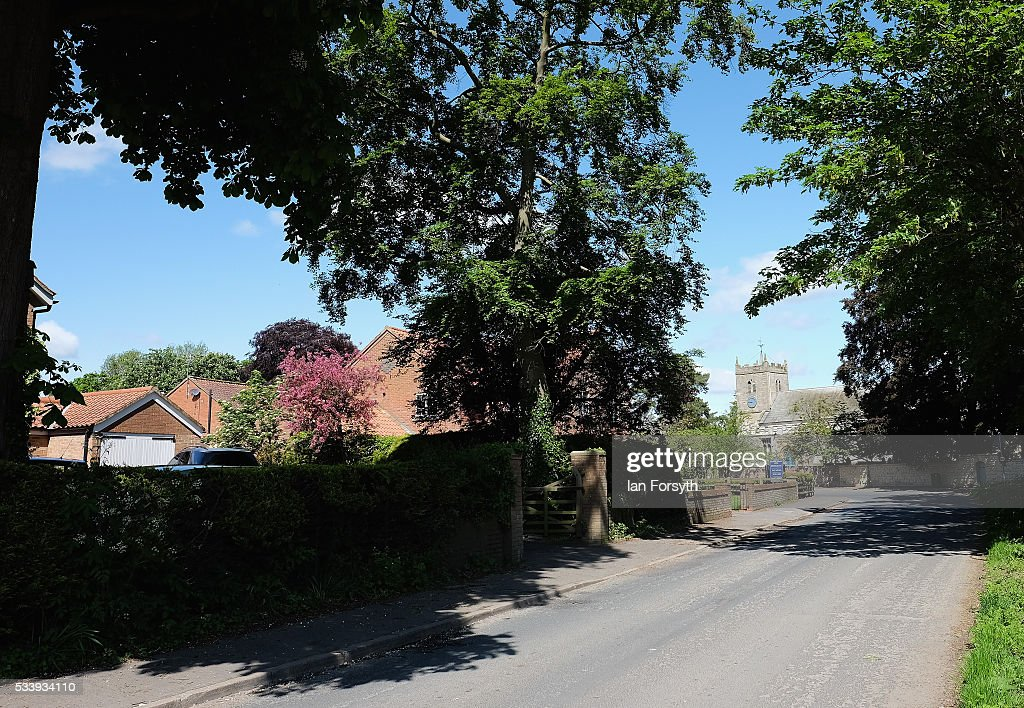 A general view of the village and church in Kirby Misperton on May 24, 2016 in Malton, England. North Yorkshire Planning and Regulatory Committee voted seven to four in favour of a planning application submitted by Third Energy to conduct fracking at the KM8 drilling site near the village. Hydraulic Fracturing, or fracking, is a technique designed to recover gas and oil from shale rock.
