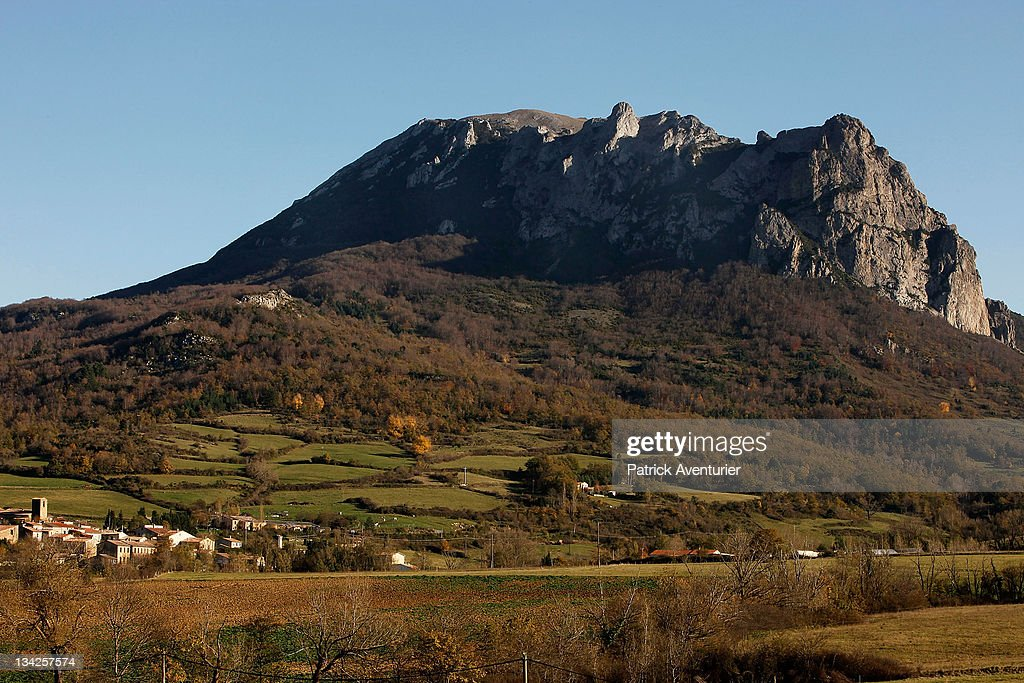 A general view of the village of Bugarach, which some are claiming will be the only surviving settlement following a devastating apocalypse in December 2012, on November 24, 2011 in Bugarach, France. Although free publicity has boosted the housing market in the village, the Mayor of Bugarach Jean-Pierre Delord is concerned about the worldwide publicity and the increased volume of people it might attract to the village and it's mountain, Pic de Bugarach.