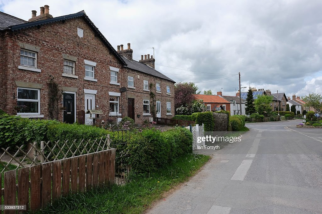 A general view of the village of Kirby Misperton in North Yorkshire near the site of the KM8 fracking site on May 24, 2016 in Malton, England. North Yorkshire's Planning and Regulatory Committee voted seven to four in favour of a planning application submitted by Third Energy to carry out fracking at the KM8 site. Hydraulic fracturing, or fracking, is a technique designed to recover gas and oil from shale rock.