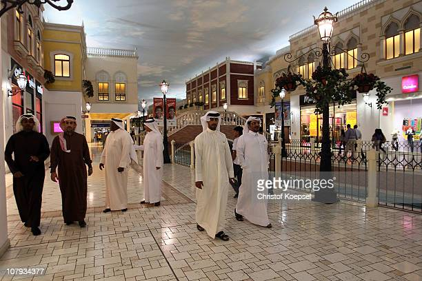 General view of the Villagio mall on January 8 2011 in Doha Qatar The FIFA World Cup 2022 will takes place in Qatar