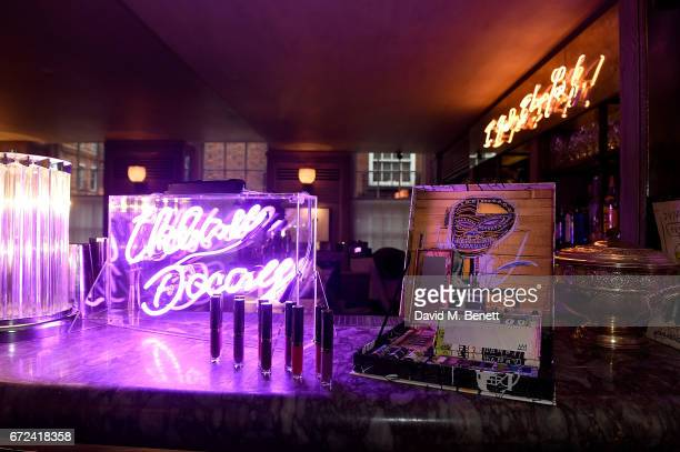 A general view of the VIP dinner to celebrate Urban Decay's arrival at Selfridges London on April 24 2017 in London England