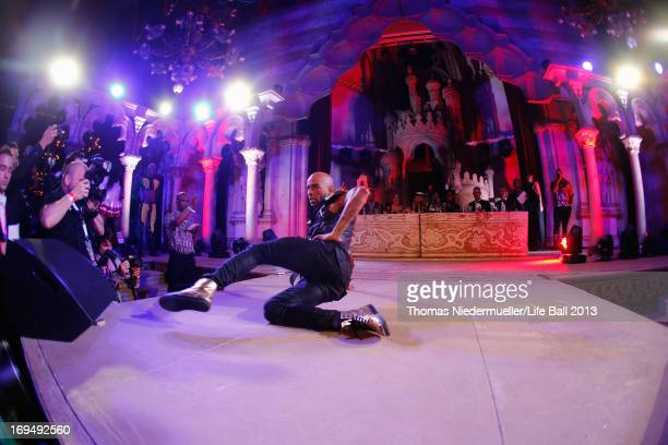 A general view of the Voguing Ball Contest at the 'Life Ball 2013 After Show Party' at City Hall on May 25 2013 in Vienna Austria