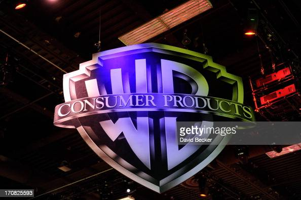 A general view of the Warner Bros Consumer Products booth at Licensing Expo 2013 at the Mandalay Bay Convention Center on June 18 2013 in Las Vegas...