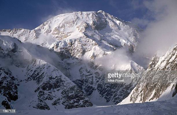 General view of the West face of Mt McKinley in Denali National Park in Alaska