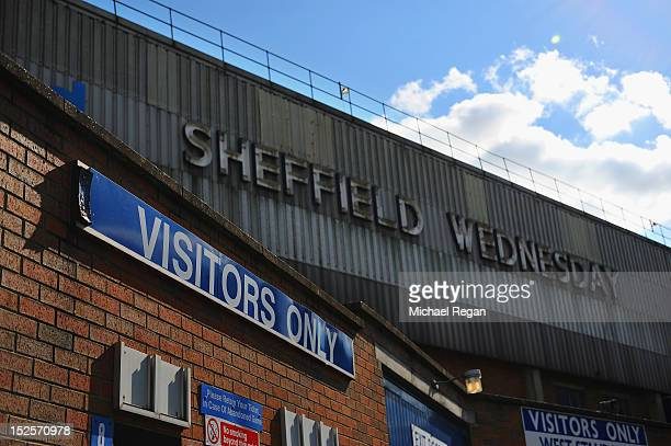 A general view of the West Stand on Leppings Lane before the npower Championship match between Sheffield Wednesday and Bolton Wanderers at...