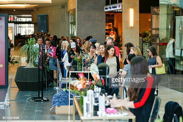 A general view of the Westfield Topanga x Ellecom Fall Trend Report at Westfield Topanga on November 5 2016 in Canoga Park California