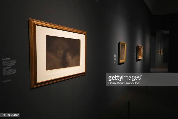 A general view of The Westmacott Sisters by Matthijs Maris during a special exhibition held at the Rijksmuseum Exhibition on October 13 2017 in...
