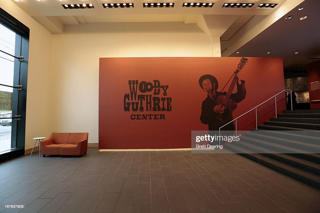 General view of the Woody Guthrie Center on April 26, 2013 in Tulsa, Oklahoma.