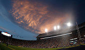 General view of Tiger Stadium during a game between the LSU Tigers and the Sam Houston State Bearkats on September 6 2014 in Baton Rouge Louisiana...
