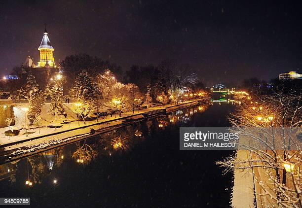 A general view of Timisoara city over Bega river is seen the city which ignited the uprising 20 years ago that brought down communist rule in Romania...