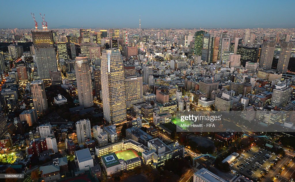 A general view of Tokyo ahead of the FIFA Club World Cup on December 10, 2012 in Tokyo, Japan.