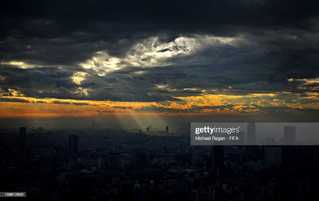A general view of Tokyo ahead of the FIFA Club World Cup on December 4th, 2012 in Tokyo, Japan.