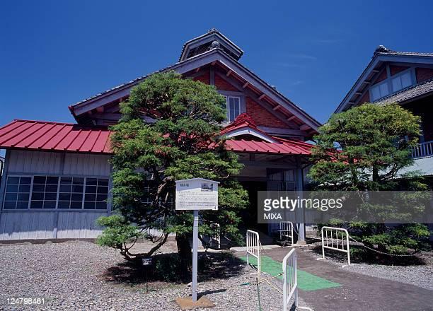 A general view of Tomioka Silk Mill on May 1 2008 in Tomioka Gunma Japan