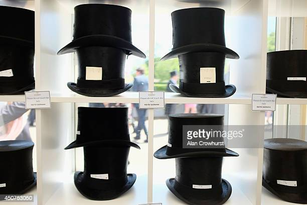 A general view of Top Hats during day one of Royal Ascot at Ascot Racecourse on June 17 2014 in Ascot England