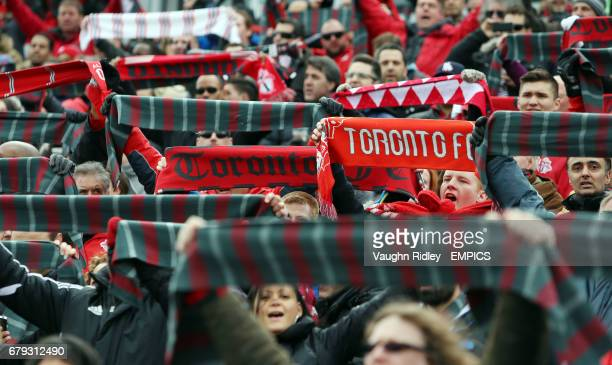 General view of Toronto FC fans