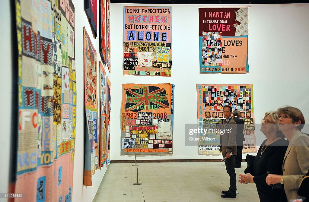 General view of 'Tracey Emin: Love Is What You Want' at The Hayward Gallery on May 16, 2011 in London, England.