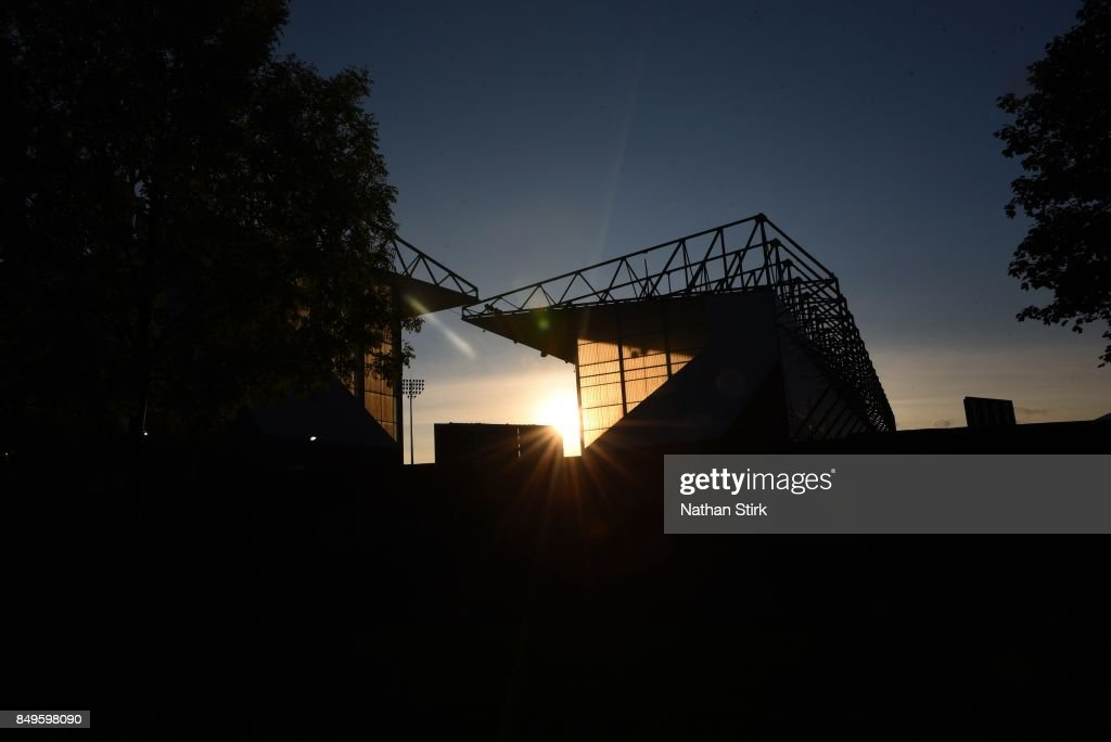 General view of Turf Moor prior to the Carabao Cup Third Round match between Burnley and Leeds United at Turf Moor on September 19, 2017 in Burnley, England.