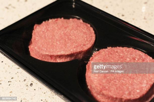 General view of two beef burgers Picture date Wednesday January 16 2013The Food Safety Authority of Ireland found low levels of horse in beef...