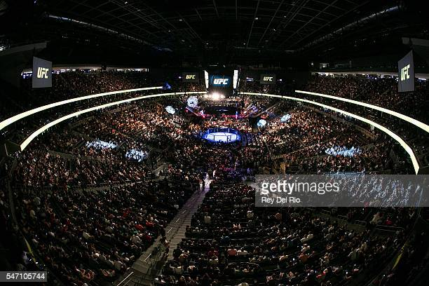 A general view of UFC 200 event at TMobile Arena on July 9 2016 in Las Vegas Nevada