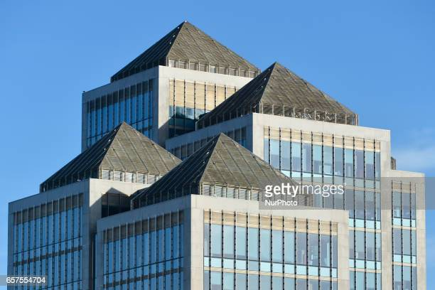 A general view of Ulster Bank HQ in Dublin's city center Ulster Bank Chief Executive Gerry Mallon announced that Ulster Bank to close 22 branches in...