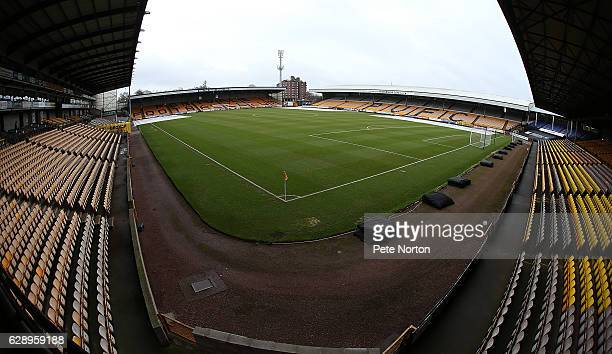 A general view of Vale Park prior to the Sky Bet League One match between Port Vale and Northampton Town at Vale Park on December 10 2016 in Burslem...