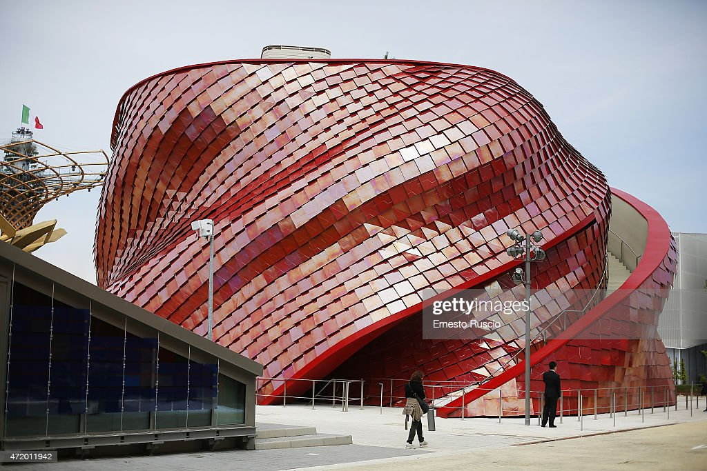 General view of Vanke pavilion during the Milano EXPO 2015 at Fiera Milano Rho on May 2 2015 in Milan Italy