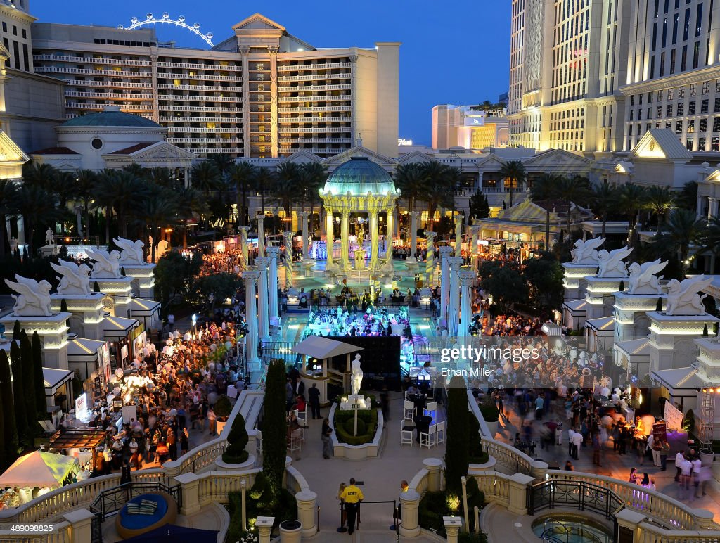 A general view of Vegas Uncork'd by Bon Appetit's Grand Tasting event at Caesars Palace on May 9, 2014 in Las Vegas, Nevada.