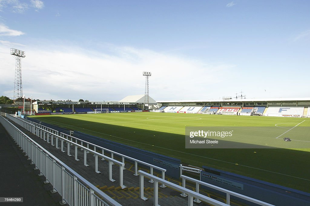 General view of Victoria Park before the friendly match between Hartlepool United and Newcastle United at Victoria Park on July 172007 in...