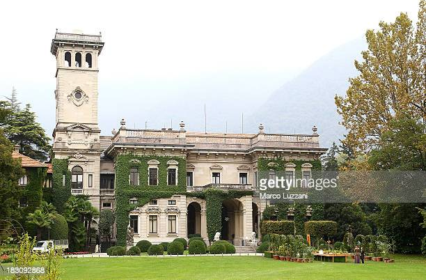 A general view of 'Villa Erba' during the Orticolario Flower Show 2013 on October 4 2013 in Como Italy