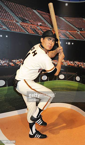 A general view of wax figuire of Sadaharu Oh is seen at Madame Tussauds on May 20 2013 in Tokyo Japan