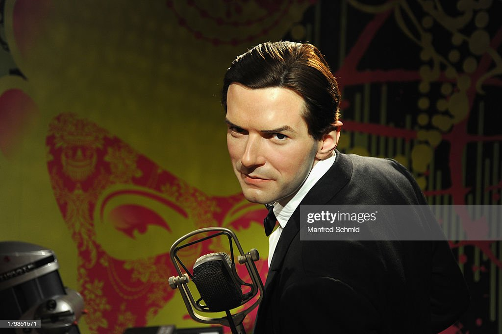 A general view of wax figure of Austrian singer Falco is seen at Madame Tussauds Vienna on September 2, 2013 in Vienna, Austria.