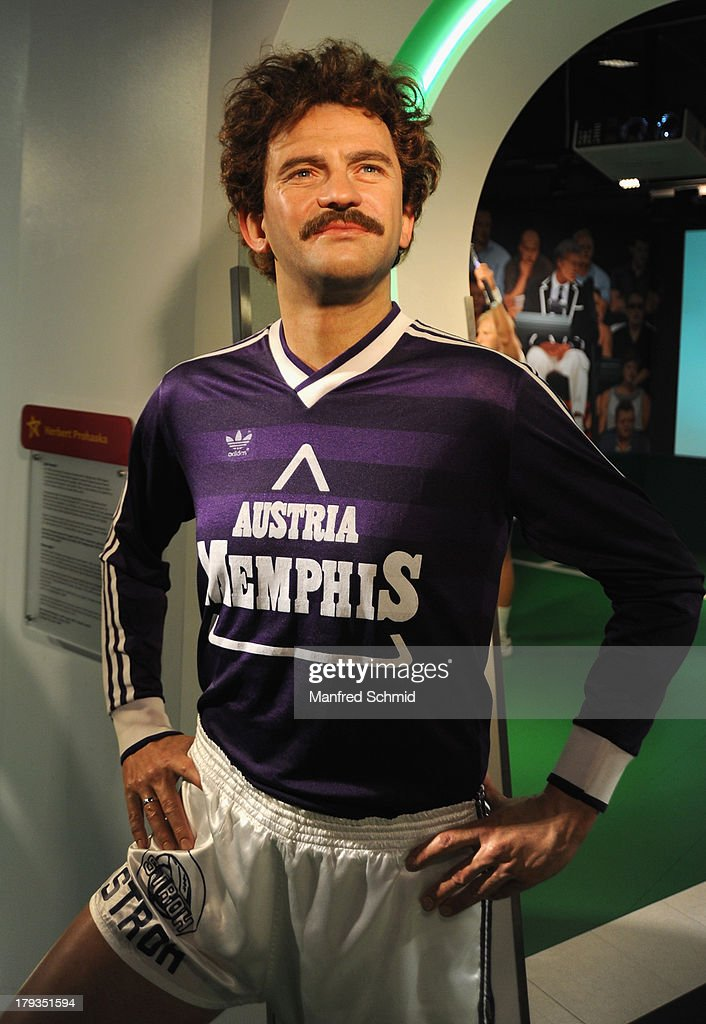 A general view of wax figure of Herbert Prohaska is seen at Madame Tussauds Vienna on September 2, 2013 in Vienna, Austria.