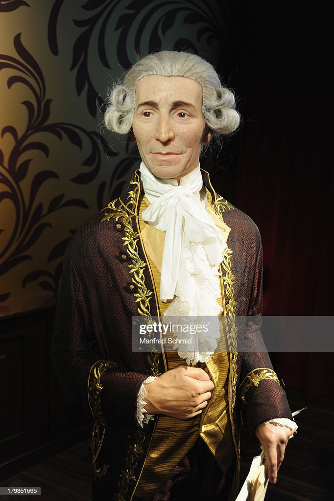A general view of wax figure of Joseph Haydn is seen at Madame Tussauds Vienna on September 2, 2013 in Vienna, Austria.