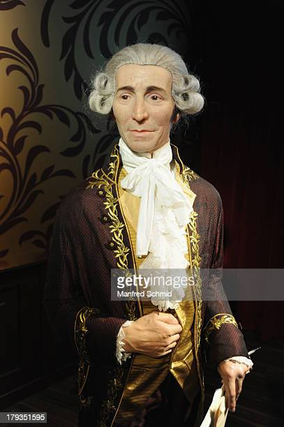 A general view of wax figure of Joseph Haydn is seen at Madame Tussauds Vienna on September 2 2013 in Vienna Austria