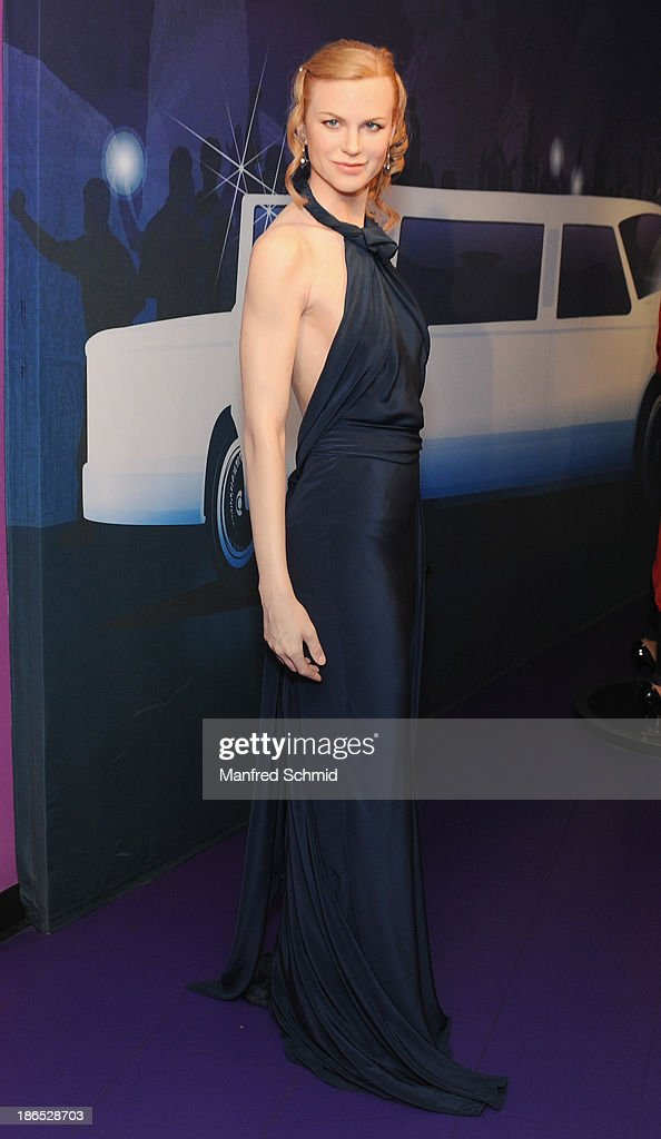 A general view of waxfigure of Nicole Kidman is seen at Madame Tussauds on October 29, 2013 in Vienna, Austria.