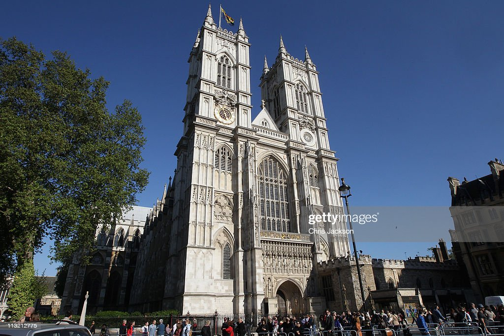 A general view of Westminster Abbey in advance of the Royal Wedding on April 27 2011 in London England With only two days to go before the Royal...