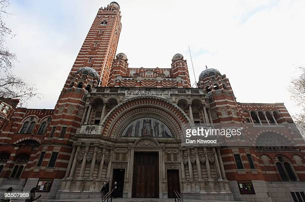 A general view of Westminster Cathedral on November 30 2009 in London United Kingdom The English Heritage Cathedrals Fabric Condition Survey 2009...