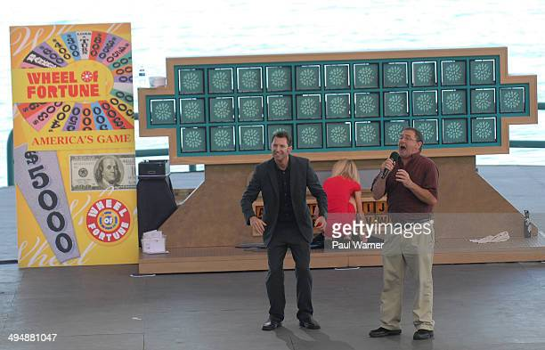 General view of 'Wheel of Fortune' auditions at Chene Park on May 30 2014 in Detroit Michigan