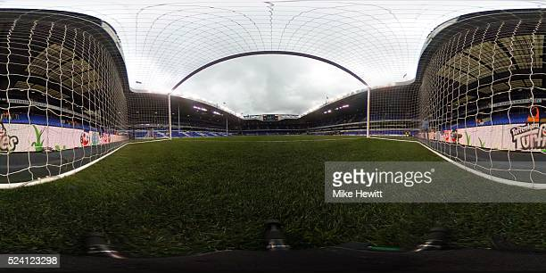 A general view of White Hart Lane stadium prior to kickoff during the Barclays Premier League match between Tottenham Hotspur and West Bromwich...