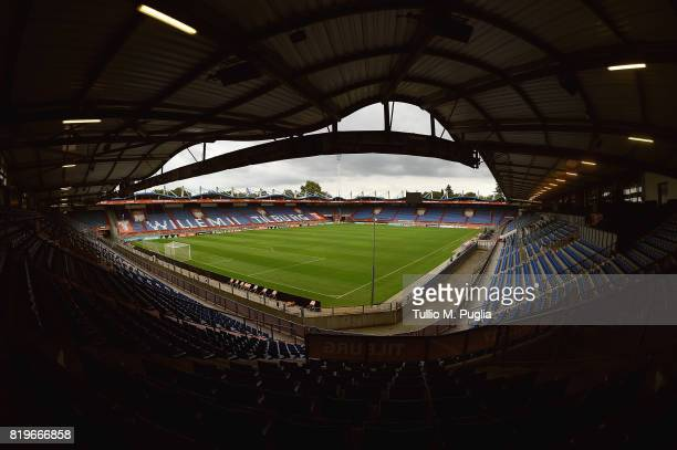 A general view of Willem II stadium during a press conference during the UEFA Women's EURO 2017 on July 20 2017 in Tilburg Netherlands
