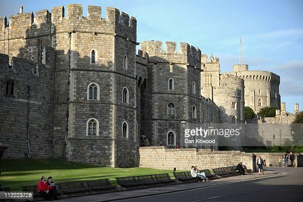 A general view of Windsor Castle on April 7 2011 in Windsor England