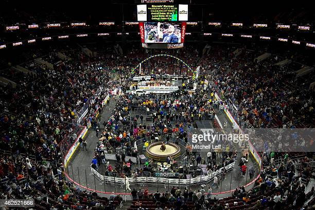 A general view of Wing Bowl 23 on January 30 2015 at the Wells Fargo Center in Philadelphia Pennsylvania