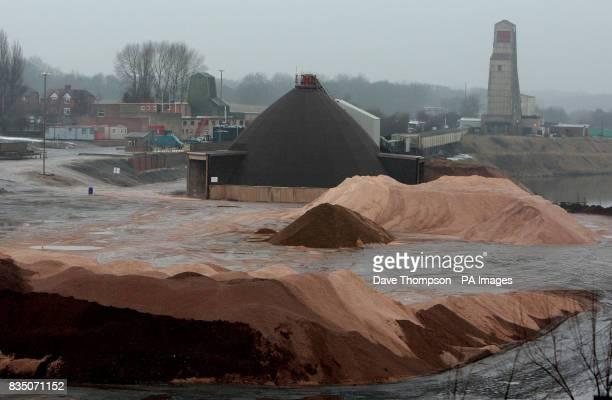 General view of Winsford Salt Mine Winsford Cheshire